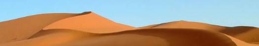 Le desert brûlant
