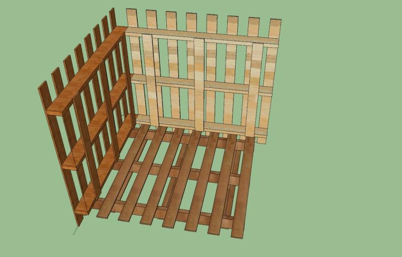 Plan gratuit de poulailler en bois Atelier retouche paris # Plan De Poulailler En Bois Gratuit