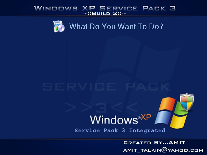 Windows Xp Service Pack 3 Build:2+Extra Bootable