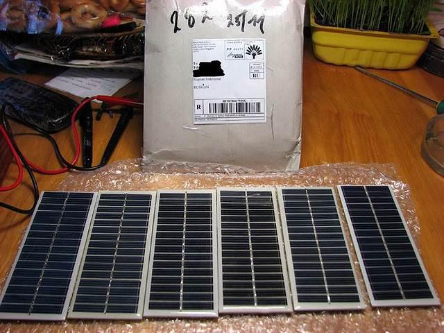 Как сделать маленькую солнечную батарею