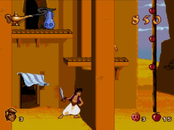 aladdi10 Aladdin in Nasirais Revenge PC Game