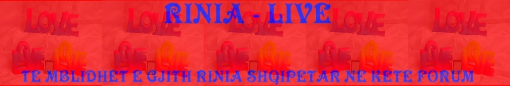 RINIA - LIVE