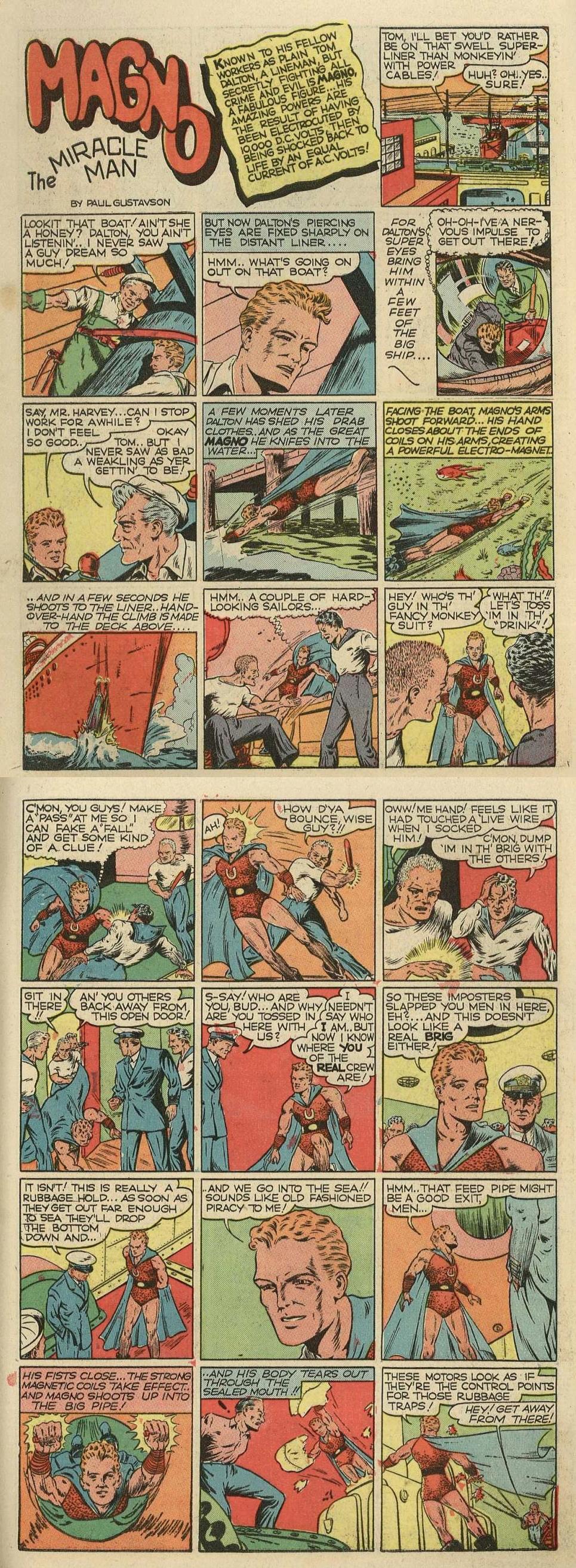 Golden Age Magno (Tom Dalton) Appreciation <Quality Comics>